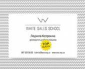 Фирменный стиль White Sales School