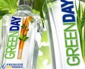 Оформление новой эко-водки «Green Day»