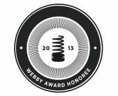 ISD Group получили знак качества отWebby Awards 2013