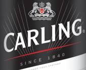 Пиво Carling вновой премиальной упаковке