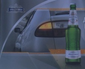 «Балтика 0» благодарит водителей за осторожное вождение