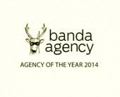 Агентством года в 2014 стала команда Banda Agency