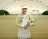 Потап перевоплотился в теннисистку