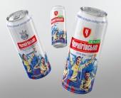 Дизайн пивных бутылок и банок для ТМ «Чернігівське»