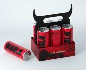Дизайн упаковки для Diablo Energy Drink