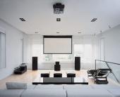 Проекторы в дизайне интерьера