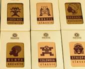 Дизайн упаковки кофейного подарочного набора ТМ «Paradise. Гурман-клуб»