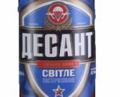 Оболонь изменила дизайн этикетки пива «Десант»